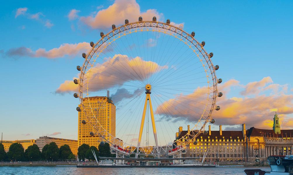 Đu quay khổng lồ London Eye