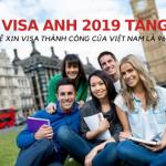 TIN MỚI: TỈ LỆ VISA UK 2019 TĂNG CAO, TRONG ĐÓ CÓ VIỆT NAM