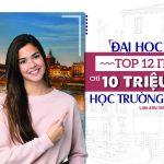 ĐẠI HỌC PAVIA TOP 12 NƯỚC Ý - CHỈ 10 TRIỆU HỌC TRƯỜNG HIỆU