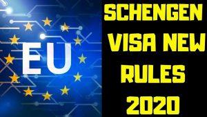 Cập nhật những thay đổi trong chính sách xin Visa Schengen 2020