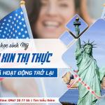 Thông tin chính thức từ Đại Sứ Quán Mỹ: Dịch vụ xin thị thực đã hoạt động trở lại