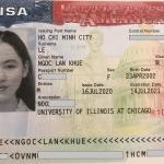 Chúc mừng Lê Ngọc Lan Khuê đã nhận được visa du học Mỹ chỉ sau 7 ngày nộp hồ sơ