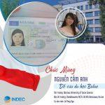 Chúc mừng Nguyễn Cẩm Anh đã nhận được Visa du học Ba Lan tại Varsaw University of Social Sciences