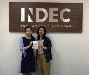 Chúc mừng Lê Quỳnh Mai đã nhận được Visa du học Anh tại Nottingham Trent University