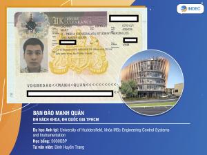 Biến nguy thành cơ, học sinh của INDEC đã nhận được Visa du học Anh