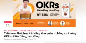 Talk show: Nâng tâm quản trị bằng OKRs: Hiểu đúng - Làm đúng