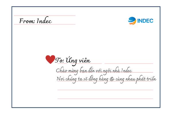 Du học INDEC tuyển dụng