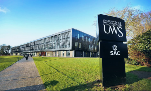 Du học trường University Of The West Of Scotland