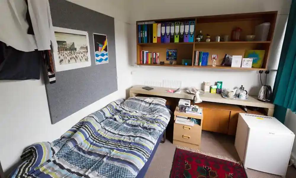 Du học sinh có thể chọn ở trong ký túc xá hoặc thuê căn hộ share với bạn.