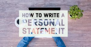 personal statement là gì