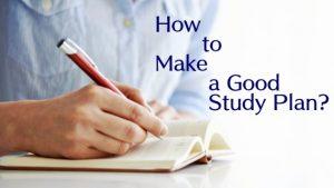 study plan là gì