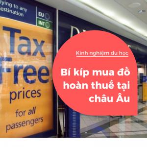 mua đồ hoàn thuế