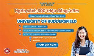 info session săn học bổng huddersfield